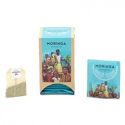moringa čaj porcovaný